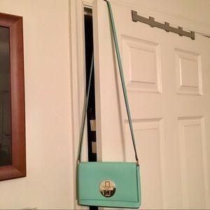 Kate Spade Mint Green Cross Body Bag